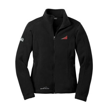 Eddie Bauer Ladies Full Zip Fleece Jacket - SuperGraphic