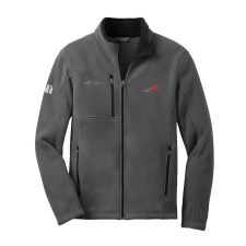 Eddie Bauer Full Zip Fleece Jacket - SuperGraphic